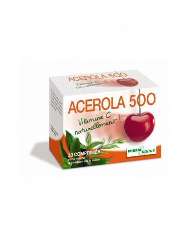 Acerola 500 Vitamine C 30 comprimés