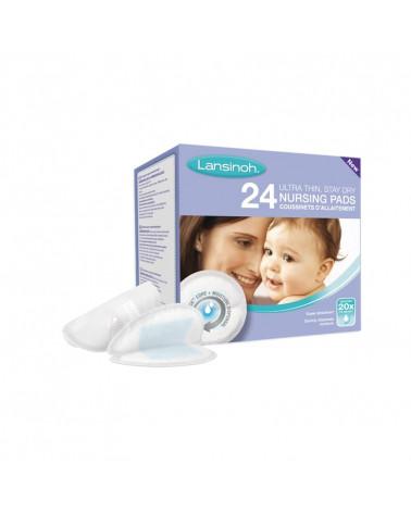 lansinoh 24 coussinets d'allaitement