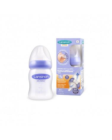Biberon naturel wave pour lait maternel 1 x 160 ml