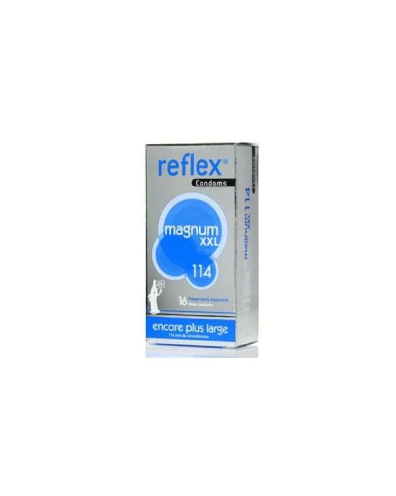 Préservatifs magnum XXL Reflex Boîte 16