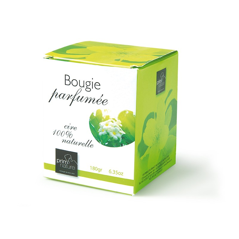 Bougie parfumée équilibrante - Prim'Nature Cire 100% naturelle