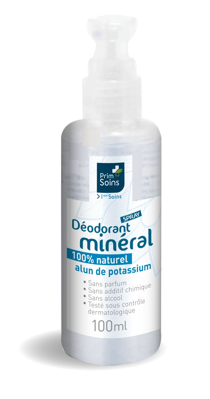 Déodorant Alun 100% naturel en spray